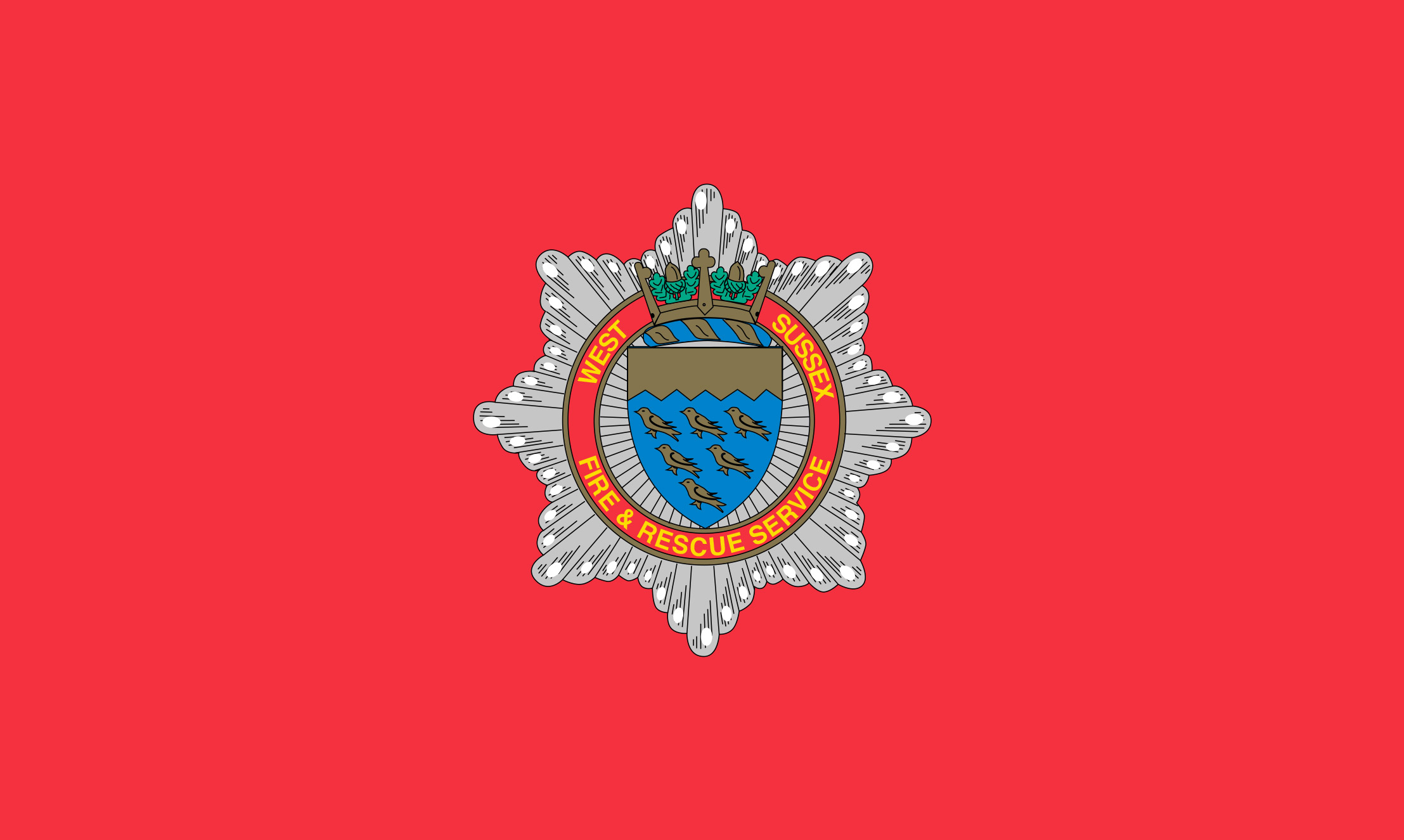 West Sussex Fire Service Badge