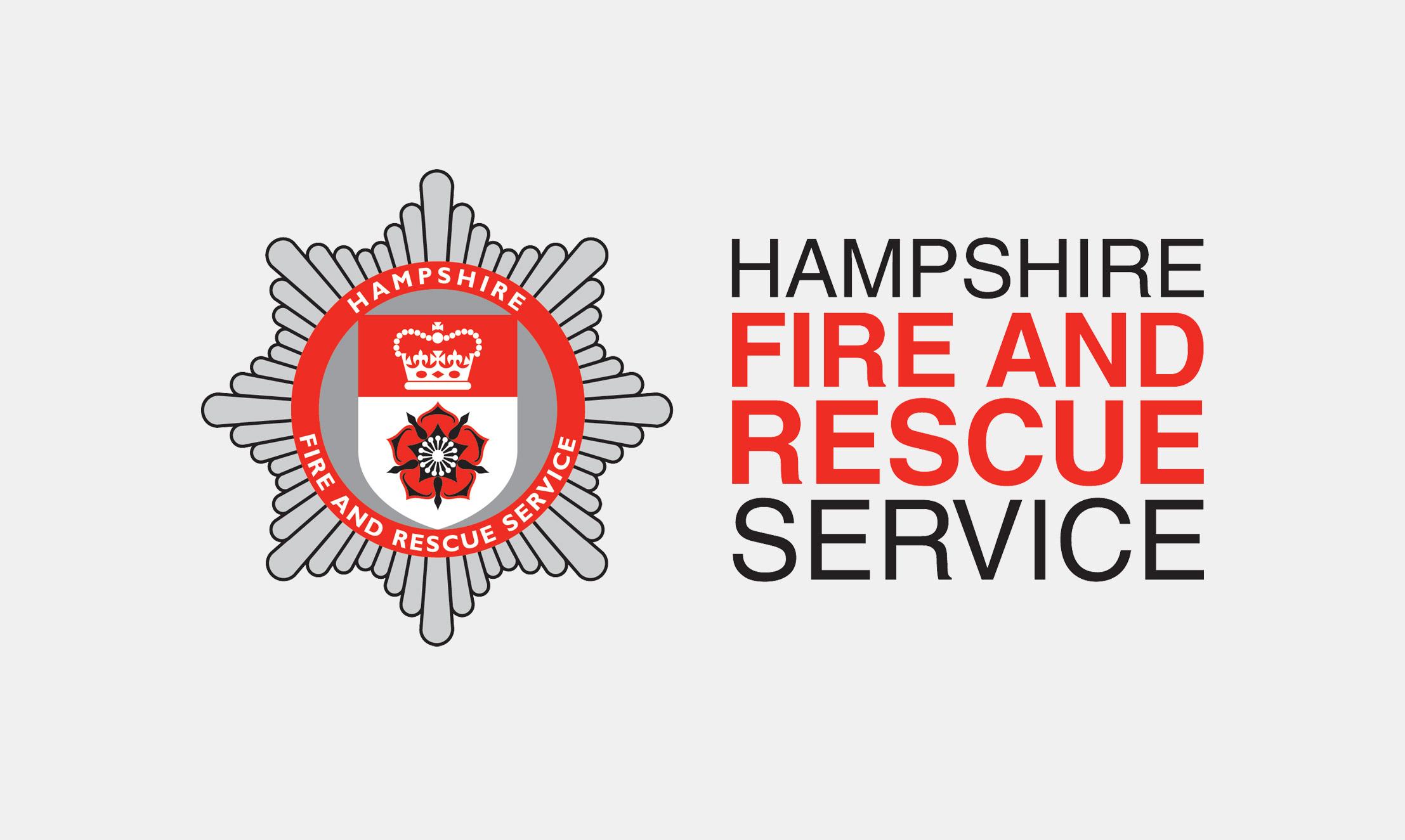 Hampshire Fire and Rescue Service Logo