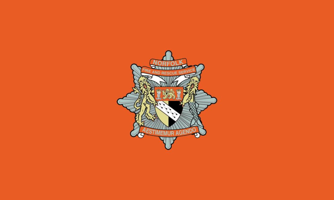 Norfolk Fire Service Badge