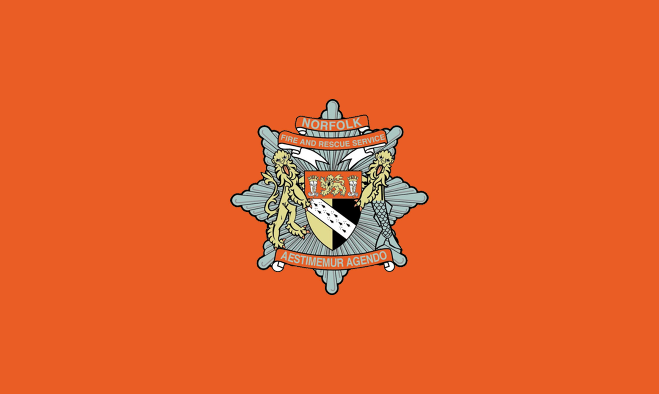 Norfolk Fire Service Badge