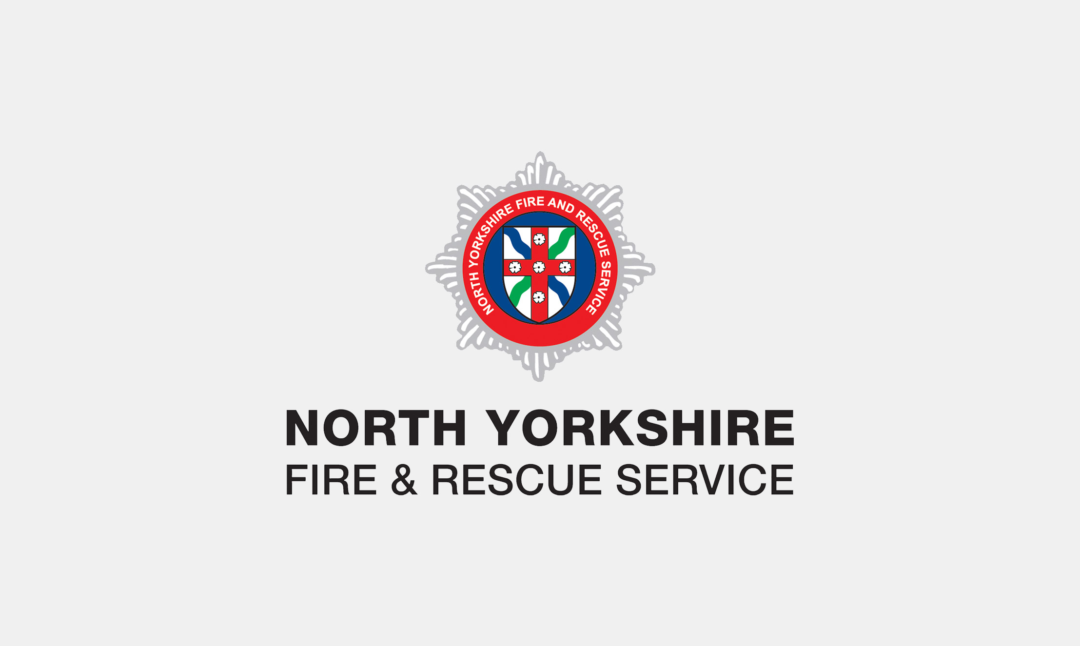 North Yorkshire Fire Service Badge
