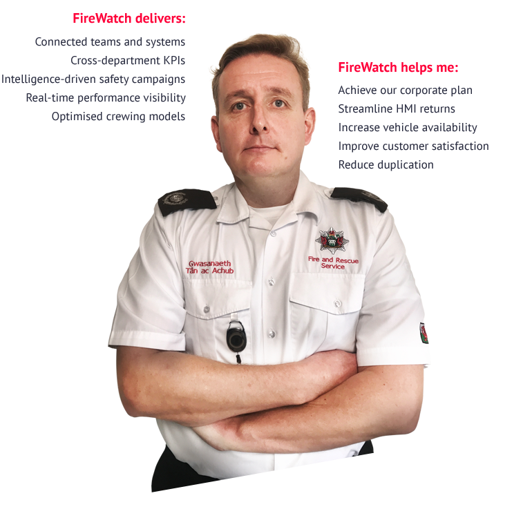 FireWatch for Senior Fire Service Management