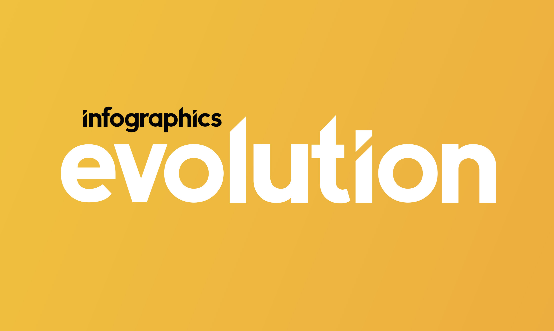Infographics Evolution Graphic