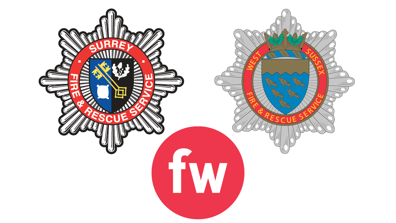 West Sussex and Surrey deploy FireWatch Cloud