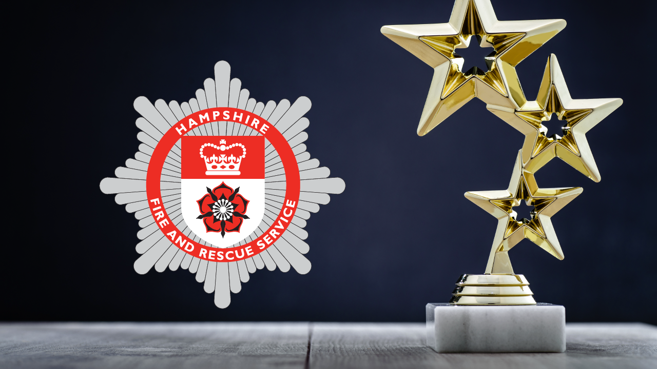 Hampshire Fire and Rescue badge